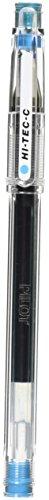Pilot Gel Ballpoint Pen, Hi-Tec-C 03, Extra Fine, Light Blue (LH-20C3-LB) (Light Blue Pen compare prices)