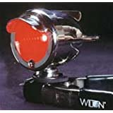 Red Bullet Taillight with Wings Bicycle Light
