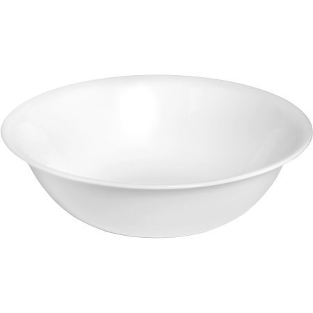 Corelle Livingware Microwave and Oven safe Serving Bowls, Winter Frost White, Set of 3 (2 Quart Corelle Bowl compare prices)