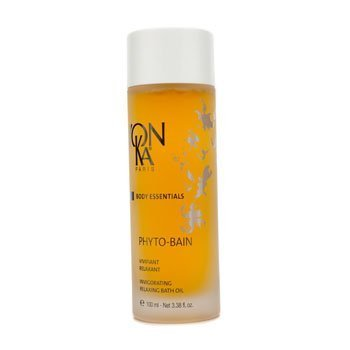 Yonka Body Care 3.38 Oz Phyto-Bain Invigorating Relaxing Bath Oil For Women Bain Bath