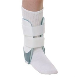 DSS Universal Inflatable Stirrup Ankle Brace, Youth by DSS