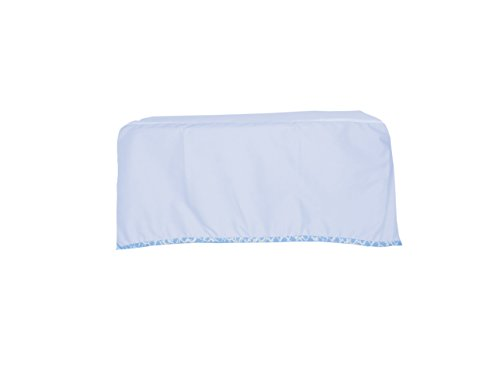Baby Doll Cobblestone Crib Dust Ruffle, Blue - 1