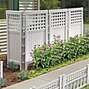 Resin Outdoor Privacy Screen-White - Improvements