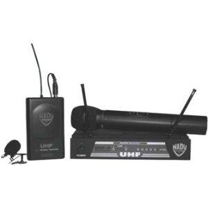 Nady UHF-4HTSYS/10 UHF-4 HANDHELD MIC SYS. CARDIOID DYNAMIC HH MIC UHF CH 10