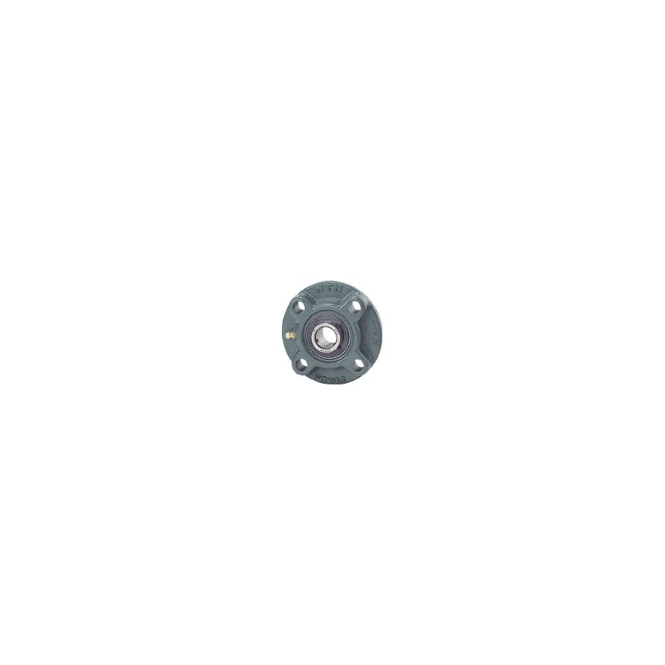 Contact and Flinger Seals 4 Bolts Setscrew Lock 6-5//16 Height 7307lbf Dynamic Load Capacity NTN UCFC209D1 Light Duty Piloted Flange Bearing 4586lbf Static Load Capacity 5-13//64 Bolt Hole Spacing Width Cast Iron 450mm Bore Regreasable