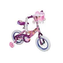 Huffy 12 inch Bike - Girls - Disney Princess with Carriage
