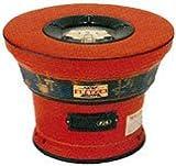 キンカの珪藻土・レンタン火鉢(カバーのみ) S5型:赤☆直径460×高さ330mm なつかしいぬくもりの火を
