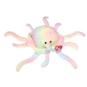 TY Teenie Beanie Babies Goochy the Jellyfish Plush Toy Stuffed Animal - 1