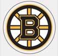 NHL Boston Bruins 21861010 Perfect Cut Color Decal, 4″ x 4″, Black