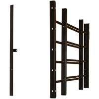 Window Guard, 4 Bar Black front-957820
