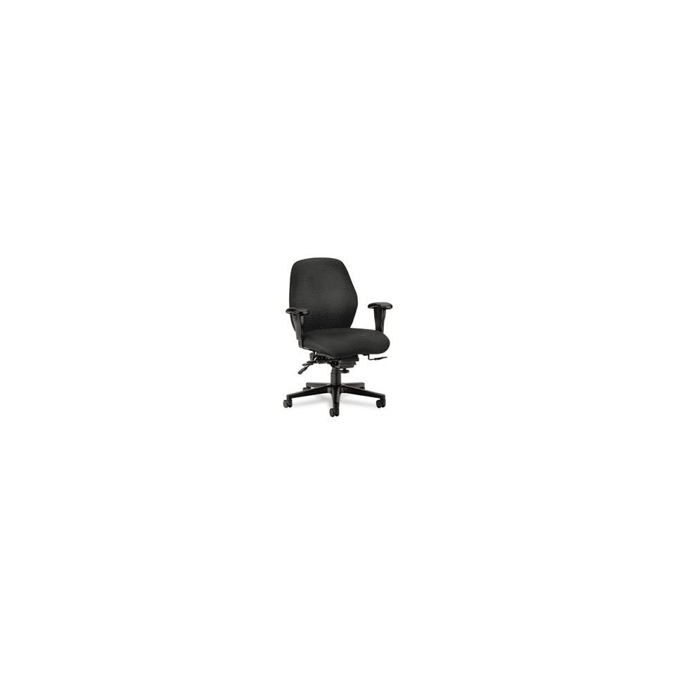 HON COMPANY 7800 Series High Performance Mid Back Task Chair, Gray