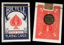 Bicycle Playing Cards (Gold Standard) - BLUE BACK by Richard Turner - Trick