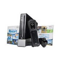 Wii Hardware Bundle - Black