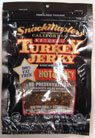 Natural Turkey Jerky Hot Spicy 2 Oz Pkg by Snack Masters