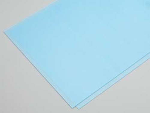"Clear Plastic Sheet .030, 9 x 12"" (2) - 1"