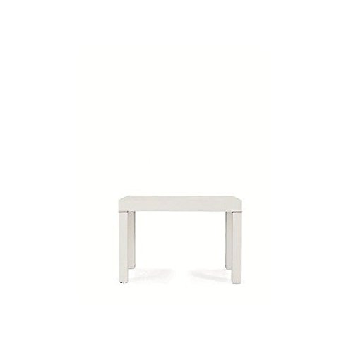 Modern Wood Table Extendible ash-coated White Console Table 110 x 50 -110 X 300 Temp