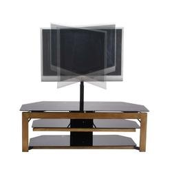 buy low price 50 black tv stand with plasma lcd tv mounting brackets b0017lsjz4. Black Bedroom Furniture Sets. Home Design Ideas