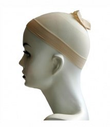 eclicks:Blonde/cream coloured breathable & stretchable wig cap (one size fits all)