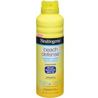 Neutrogena Beach Defense Water + Sun Barrier Sunscreen Spray SPF 70, 6.5 oz