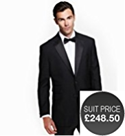 Sartorial Pure Wool 2 Button Dinner Jacket