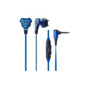 AUDIO TECHNICA ATH-CHX5BL / SONIC FUEL IN-EAR PORTABLE HEADPHONE 3.5 MM 1.2 M BLUE [parallel import goods]