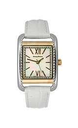 Tommy Bahama Women's Three-hand Leather Strap watch #TB2104