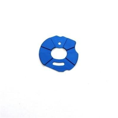 ST Racing Concepts ST3691B Aluminum Heatsink Motor Plate Slash, Rustler and Stampede (Blue) - 1