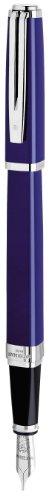 exception slim blue st fountain pen medium