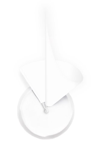 Manifold Clock, Telling Time In 3D (White)