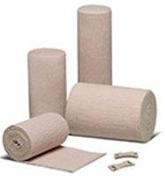 "Double Length, Latex-Free Reinforced Elastic Bandages-6"" X 10 Yds./ 15Cm X 9M"