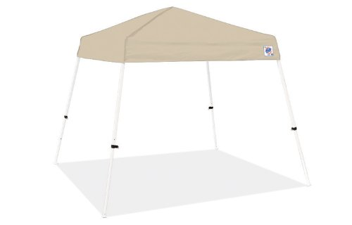 Vista Sport Recreational Instant Shelters Gazebos by International E-Z UP, 8 by 8-Feet, Tan