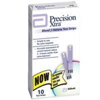 Precision Xtra Blood Ketone Test Strips - 10 ea