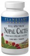 Planetary Herbals Full Spectrum Nopal Cactus 1000 mg 120 Tablets