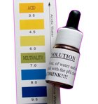 Alkazone Ph Test Drops for Water Ph with Color Chart