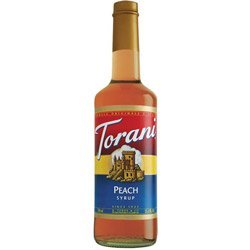 Torani Coffee Syrup, Peach 25.35 Z