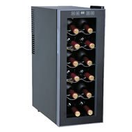 12-Bottle Slim Wine & Beverage Cooler (Semiconductor) By Sunpentown