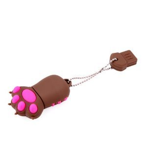 High Quality 4 GB Claw USB Flash drive (Brown) from T &  J