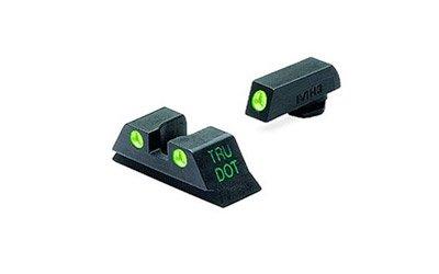 Meprolight Glock Tru-Dot Night Sight for 10 mm & .45 ACP. fixed set