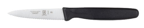 Mercer Culinary Millennia 3-Inch Serrated Slim Paring Knife