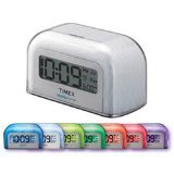 Timex T105WX Color Changing Alarm Clock (White Gift Box)