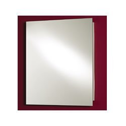 Jensen 1430 Focus Frameless Medicine Cabinet with Polished Mirror, 16-Inch by 22-Inch