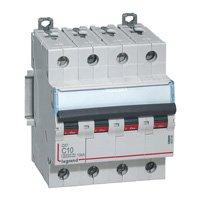 Legrand Circuit Breaker dx LEG407902 6000 Screws Bolts 40 A 400 V 4P 10KA Curve C hx-Traditional 4-Pin 4 m