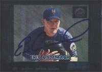 Eric Cammack Norfolk Tides - Mets Affiliate 2000 Bowman Foil Autographed Hand Signed... by Hall of Fame Memorabilia