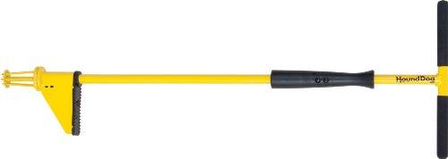 Hound Dog HDP34 Weed Hound Elite Stand Up Weeding Tool, Yellow
