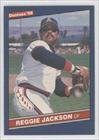 Reggie Jackson California Angels (Baseball Card) 1986 Donruss #377