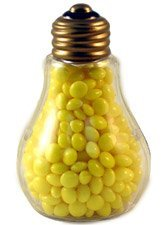 Clear Plastic Fillable Light Bulbs - Set of 10 - Candy or Crafts (Christmas Glass Jars compare prices)