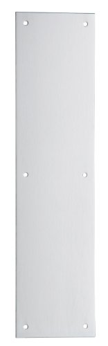 Ives 8200 3.5 X 15 US32D Push Plate, Satin Stainless Steel Finish, 15