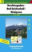 Wanderkarten Berchtesgaden Reichenhall Königssee Freytag