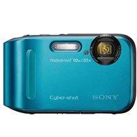 Sony DSC-TF1/L 16 MP Waterproof Digital Camera with 2.7-Inch LCD (Blue)