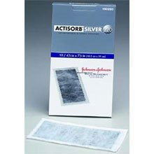 ACTISORB Silver 220 Antimicrobial Binding Dressing 4x4 box of 10 by Johnson amp; Johnson